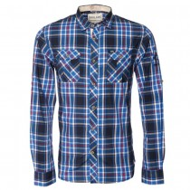 TODD CHECK SHIRT IN BLUE